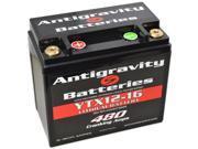 Antigravity Batteries 92-AG-YTX12-16 OEM Case 16-Cell 13V 22ah 480 cca Maintenance Free Battery - 3 Year Manufacturer Warranty!