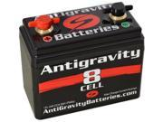 Antigravity Batteries 92-AG-801 Small Case 8-Cell 13V 9ah 240cca Lightweight Maintenance Free Battery - 3 Year Manufacturer Warranty!