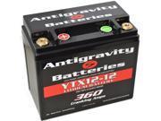 Antigravity Batteries 92 AG YTX12 12 OEM Case 12 Cell 13V 12ah 360 cca Maintenance Free Battery