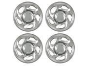 Set of 4 16 Chrome Wheel Skin Hubs With Center: Toyota Tundra (2000 - 2006) 16x7 Inch 6 Lug Steel Rim -Aftermarket: IMP/19X