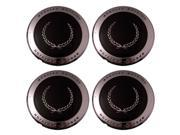 Set of 4 Cadillac Deville Chrome Lace Replica Center Caps Hub Cover Fits 15x6 Inch Alloy Wheel - Aftermarket: IWCC1646N