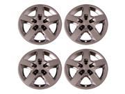 Set of 4 Chrome 17 Inch Chevy Malibu Pontiac G6 Replacement Bolt On Retention System Hubcaps IWC435 17C