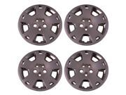 Set of 4 Chrome 17 Inch Aftermarket Replacement Hubcaps for a Bolt On Retention System - Aftermarket Part: IWC430/17C