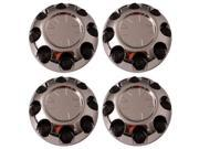 Set of 4 GMC Sierra, Yukon & Yukon XL '07 - '11 Replacement Center Caps Hub Cover Fits 17x7 Inch 8 lug Alloy Wheel Aftermarket: IWCC5294