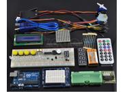 Arduino Starter Kit UNO R3 Step Motor Servo 1602 LCD Screen Breadboard Jumper Cable Whole Set for Arduino Beginner Starter Learning Study with Remote
