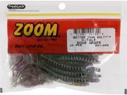 Zoom Soft Plastic Bass Fishing Bait 001-089 Super Salt+ U-Tale 20 PK Sour Grape