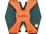 Accusharp ASAS335CD Sharp N Easy Blaze Orange Two Stage Pocket Knife Sharpener thumbnail