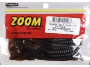Zoom Soft Plastic Bass Fishing Bait 001-096 Super Salt+ U-Tale 20 PK Scuppernong
