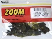 Zoom Soft Plastic Bass Fishing Bait 001-161 Super Salt+ U-Tale 20 PK Black Grape