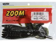 Zoom Soft Plastic Fishing Bait 086-025 Super Salt+ G Tail Worm Green Pumpkin