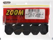 Zoom Soft Plastic Fishing Bait 028-038 Super Salt+ Big Salty Chunks Black