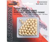 Marksman .30 Caliber Gold Steel Slingshot Ammo 150 Pack 3130
