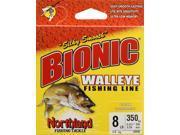 Apex BW350-8-CL Fishing Monofilament Bionic Walleye Line 8 Lb.