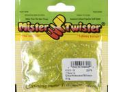 """Mister Twister MTSF20-10S 3"""" Meeny Curly Tail Lure Lure 20 PK Chartruese/Flake"""