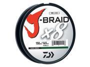 Daiwa JB8U40-150DG J-Braid Braided Line 40lbs 165Yds Filler Spool Dark Green