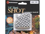 Marksman MA3100 Hunting Shot 1 4 Diameter Steel Ammo 250 Count