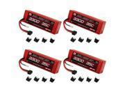 Venom 35C 3S 3300mAh 11.1V LiPo Hard Case Battery with UNI Plug x4 Packs   Part No. 15094X4