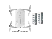 ZEROTECH Dobby Pocket Selfie Drone Two 2 Extra Batteries