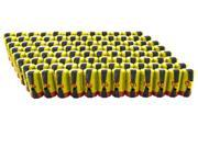 Tenergy Sub C 1.2V 2200mAh NiCd Flat Top Rechargeable Battery for Power Tools (w/ Tabs), 96 pieces