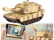 JD805 Wi-Fi RC Scouting Tank with Real-Time Video HD Camera