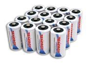 Combo: 16pcs Tenergy Premium D Size 10,000mAh High Capacity NiMH Rechargeable Batteries