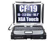 Panasonic Toughbook Cf-19 i5-2520M 2.5GHz MK5 320GB 4GB Windows 7 FREE CAR ADAPTER INCLUDED