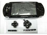 New Black Complete PSP 2000 Shell