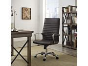 Finesse Highback Office Chair in Brown