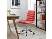 Ripple Mid Back Office Chair in Red