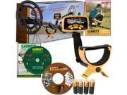 "Garrett ACE 250 Metal Detector With The Powerful 6.5"" x 9"" PROformance Submersible Searchcoil, Training DVD Plus Bonus CD"