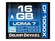 Delkin Devices DDCFCOMBAT1000 16GB 1000X UDMA 7 Compact Flash Memory Card