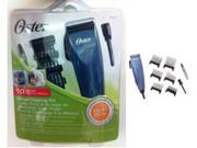 OSTER pet 10-PC set DOG animal Clipper Trimmer w/combs NEW