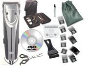 Oster A5 Outlaw 2-Speed Dog Animal Clipper Case,DVD,Shears #10 Blade+Combs Guide