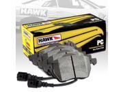 HAWK PERFORMANCE CERAMICS STREET BRAKE PADS - HB606Z.650 - FRONT