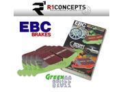 EBC Brakes DP61792 EBC 6000 Series Greenstuff Truck SUV Brakes Disc Pads