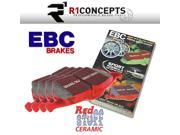 EBC Brakes EBC Redstuff Ceramic Low Dust Brake Pads 9SIV18C6BR3526
