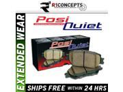 [FRONT SET] POSI-QUIET EXTENDED WEAR Disc Brake Pads [106.09410]