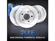 [FRONT+REAR] ELINE eLine Slotted  Brake ROTORS DISC CES.44139.01 9SIA2GG4ZY5063