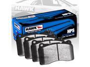 HAWK HPS PERFORMANCE STREET BRAKE PADS - HB496F.640 - REAR 9SIA2GG2CC7229