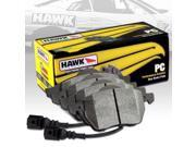 HAWK PERFORMANCE CERAMICS STREET BRAKE PADS - HB638Z.702 - FRONT 9SIA2GG1T48461