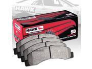 HAWK SUPERDUTY PERFORMANCE STREET BRAKE PADS - HB568P.666 - REAR 9SIA2GG1T48604