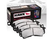 HAWK HP PLUS PERFORMANCE STREET BRAKE PADS - HB711N.661 - FRONT 9SIA2GG2CC7236