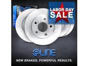 Brake Rotors FRONT+REAR ELINE O.E BLANKS - Lexus LS400 1995 - 2000 9SIA2GG2NS8090