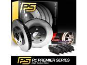 2007 2008 2009 2010 Mini Cooper Front Premier Plain Brake Disc Rotors & Ceramic Brake Pads 9SIA2GG52N7410