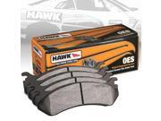 2008 Honda Pilot Special Edition Hawk  Disc Brake Pads; 770865-Rear