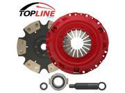 TOPLINE 6 Puck Stage 4 Racing Clutch Kit 03-07 HONDA Accord (2.4L 4cyl)