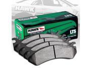 HAWK LTS PERFORMANCE STREET BRAKE PADS - HB393Y.665 - FRONT 9SIA2GG1T48888