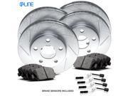 [COMPLETE KIT] eLine Slotted Brake Rotors & Ceramic Brake Pads CES.3507302