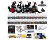 Details about  Tattoo Kit 4 Machine Guns Set Equipment Power Supply 54 Color Ink Tip HW-7GD 9SIA2HC20H9743
