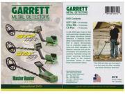 Garrett Instructional DVD GTP 1350, GTAx 550, CX Plus